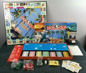 Parker Brothers Monopoly Florida Edition Board Game