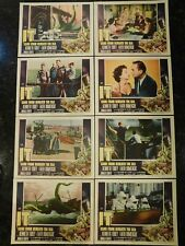 IT CAME FROM BENEATH THE SEA Original, Complete 1955 Lobby Card Set, C8.5 VF/NM