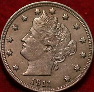 1911 Philadelphia Mint Liberty Nickel