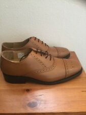 Brand New Samuel Windsor Tan Leather Brogues Shoes bv135 Size:6.5