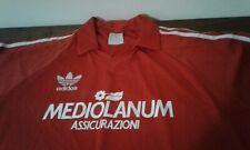 MAGLIA SHIRT VINTAGE MILAN CALCIO FOOTBALL ADIDAS OFFICIAL MEDIOLANUM XL RED