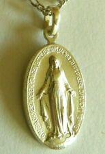 Wunderbare Medaille deutsch, Wundertätige Medaille in Silber, Madonna