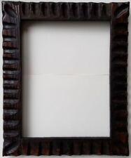 "Picture Frame Vintage Handmade Fancy Corners 8 x 10 1/2"""