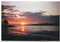 Scotland Postcard - Sunset over Beauly Firth - Inverness-shire and Ross AB1453