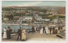 Isle of Wight postcard - Ventnor - From the Pier, IOW - LL No. 11 (A206)