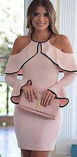 Sexy-kleid Damen Kalte Schulter Slim Ballkleider Abendkleider Cocktailkleid Plus