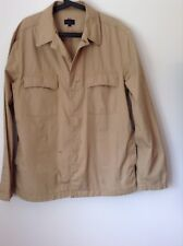 Pre-Loved 100% Auth By Paul Smith Mens Casual Elegant Beige Jacket. XL
