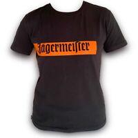 Original Jägermeister TShirt T-Shirt Shirt Schwarz mit Logo und Schriftzug