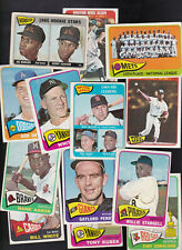 1965 TOPPS original BASEBALL CARDS -YOU Pick A PLAYER CHOICE - COMMONS TO STARS