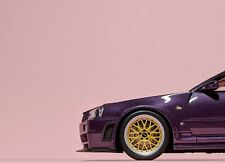 OTTO Mobile 1:18 Nissan Skyline GT-R NISMO Z-Tune (R34) Midnight Purple (OT811)