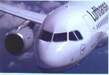 LUFTHANSA    Airbus  A319   Aviation Airline Postcard (1)