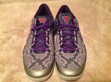 Nike Kobe 8 System Mine Grey Black Mamba Size 18 555035-003