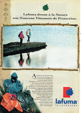 Publicité Advertising  068  1993    Lafuma vetements sport randonnée Gore-Tex