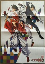 【VeryRare】Rurouni Kenshin/Samurai X A2 Size Double side Original Poster