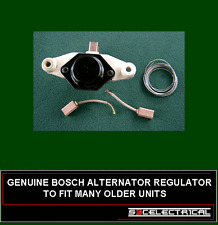 GENUINE BOSCH O.E ALTERNATOR VOLTAGE REGULATOR  PLUS SPARE BRUSH SET