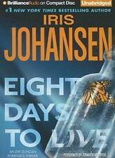 Eve Duncan: Eight Days to Live 10 by Iris Johansen (2010, CD, Unabridged)