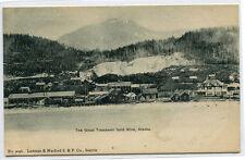 Treadwell Gold Mine Mining Alaska 1907c postcard