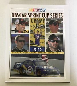 2012 Sprint Cup Series Yearbook Nascar Racing Official Pictorial Book Excellent