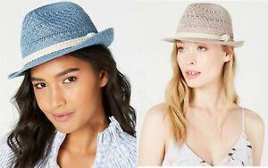 INC International Concepts Women's Packable Crochet Fedora