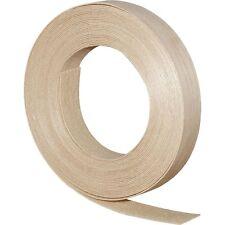 """Wood Veneer Edgebanding Edge Banding Tape Pre-Glued 7/8"""" x 25' Birch"""