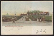 POSTCARD BALTIMORE MD/MARYLAND EARLY GOLF COURSE COUNTRY CLUB HOUSE 1905
