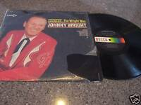 """Johnny Wright """"Country The Wright Way"""" LP"""