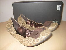 Kenneth Cole Reaction Womens New Chip N Slip Espresso Ballet Flats 6 M Shoes