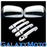 07-11 Toyota Yaris Triple Chrome Mirror+4 Door Handle no PSG Keyhole Cover