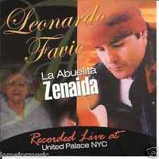 rare version CD Leonardo Favio LIVE AT THE UNITED PALACE la abuelita Zenaida