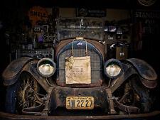 "Automotive Vintage Car Barn Find Photo Print 11x14"""