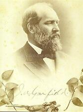 CABINET CARD PHOTO: Post Mortem MEMORIAL PRESIDENT JAMES A. GARFIELD 1881