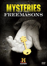 Mysteries Of The Freemasons/Secret Societies. Esoteric Doco Double. In Shrink!