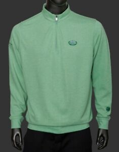 Scotty Cameron 1/4 Zip Pullover 2021 Masters Release Mint Leaf Color Small