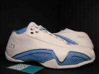 2006 Nike Air Jordan XX1 XXI 21 Low WHITE UNIVERSITY BLUE SILVER 313529-142 11.5