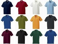 MENS RUSSELL HARDWEARING POLO SHIRT WORKWEAR WORK TOP QUALITY 599M 3 COLOURS