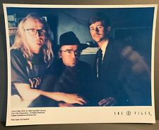 X-Files Creation Colour 10x8 Photo - The Lone Gunmen BYERS, FROHIKE & LANGLY - A