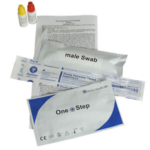 1 x GP Gonorrhoea Gonorrhea Swab Tests (Male & Female) STI STD Screening Kit