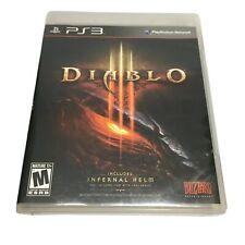 Diablo III (Sony PlayStation 3, 2013) Complete PS3