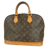 Auth LOUIS VUITTON M51130  Monogram Alma Late Type Hand Bag France F/S 15450bkac