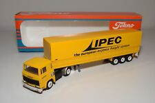 S TEKNO SCANIA 141 IPEC EXPRESS FREIGHT TRUCK WITH TRAILER NEAR MINT BOXED