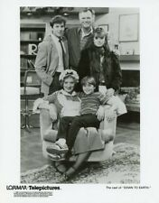 DICK SARGENT CAROL MANSELL KYLE RICHARDS DOWN TO EARTH CAST 1986 TV PRESS PHOTO