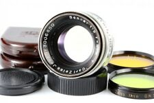 Carl Zeiss Jena 5cm F2 Sonnar T Lens w/Filter *Exc+* Leica LTM L39 from Japan