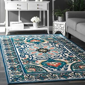 Floral 5 X 8 Ft Size Area Rug Area Rugs For Sale Ebay