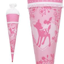 Roth Soft Touch Schultüte Pink Garden 70 Cm