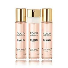 Chanel Coco Mademoiselle Edt Twist & Spray 3x20ml Refills For Her