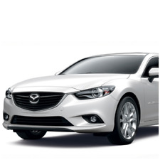 Mazda 6 2012-2015 vorne Stoßstange in Wunschfarbe lackiert, NEU!