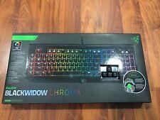 Razer BlackWidow Chroma, Clicky RGB Mechanical Gaming Keyboard New!!!