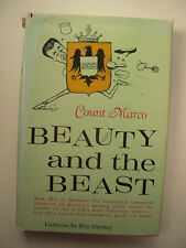 Count Marco~BEAUTY AND THE BEAST~1ST/DJ~INSCRIBED~NICE COPY