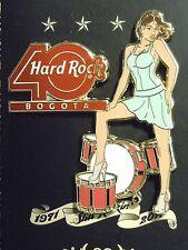 Hard Rock Cafe Bogota 40th Anniversary Girl Pin