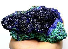 "590g Rare Beauty Glittering ""Globular"" Azurite Crystal Mineral Specimen/China"